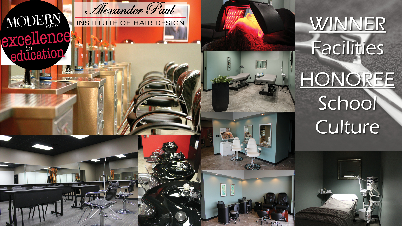 Alexander Paul Institute Wins Modern Salon Magazines  School - Interior design schools in nc